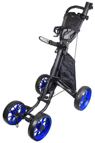 CaddyTek 4 Wheel Caddycruiser One Version 8 push golf cart
