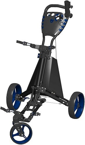 Spin It Golf Easy Drive Push Carts