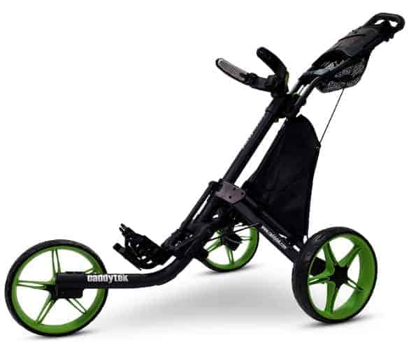 caddytek ez-fold 3 wheel golf pushcart