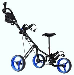 the best powered golf push cart