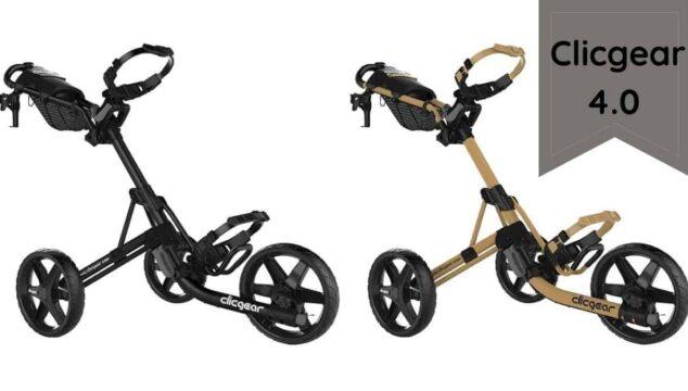 Clicgear 4.0 Golf Trolley Push Cart