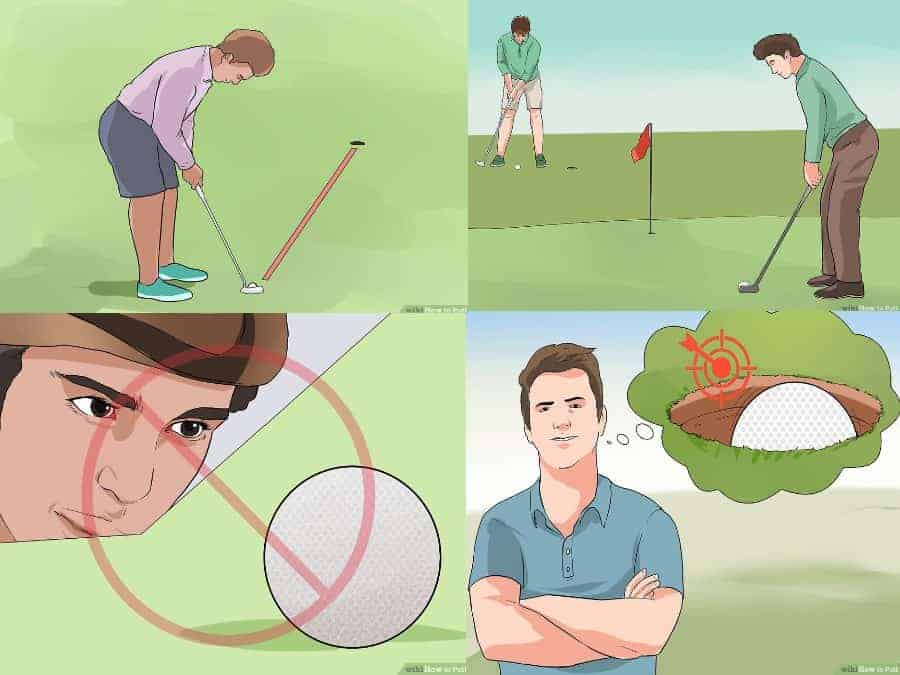 How to putt in golf consistently
