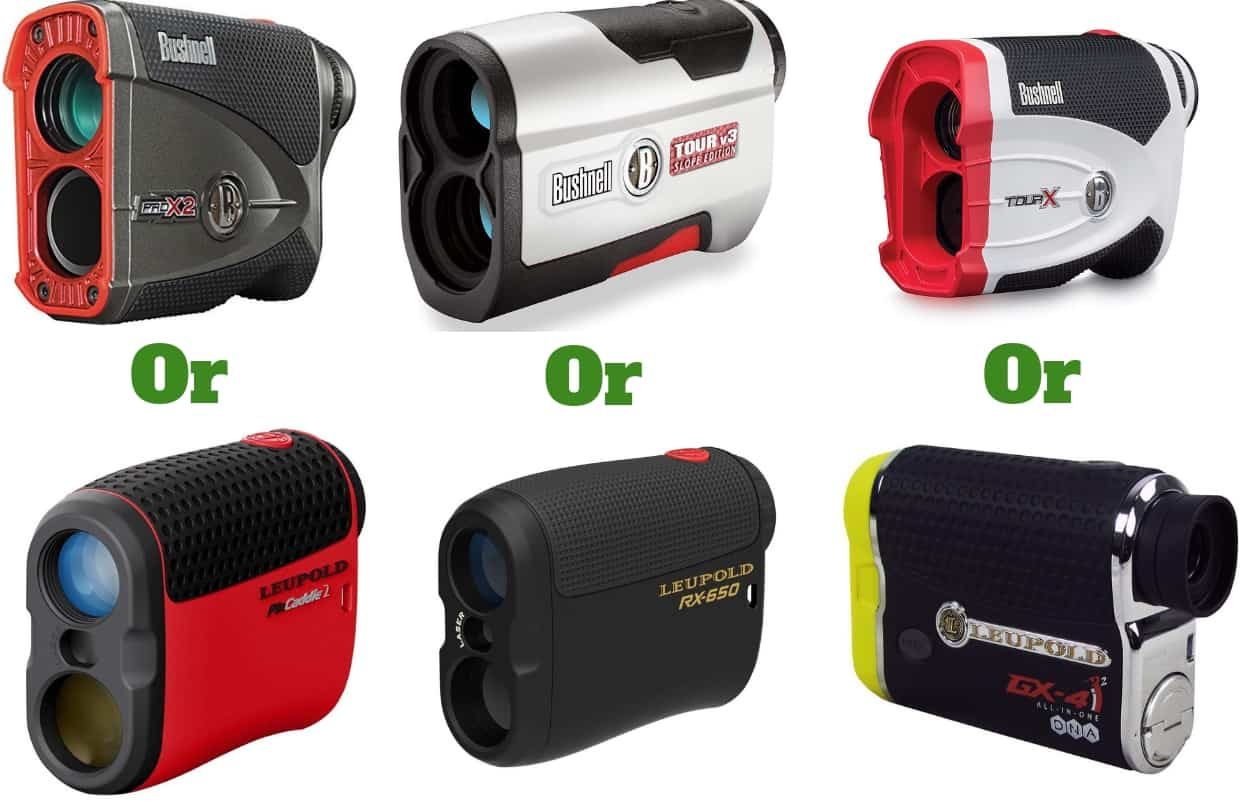 Leupold vs Bushnell golf Rangefinders review