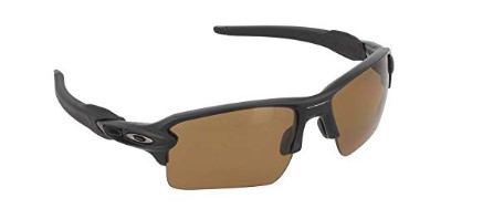 Oakley Mens Flak 2.0 XL OO9188-07 Rectangular Sunglasses