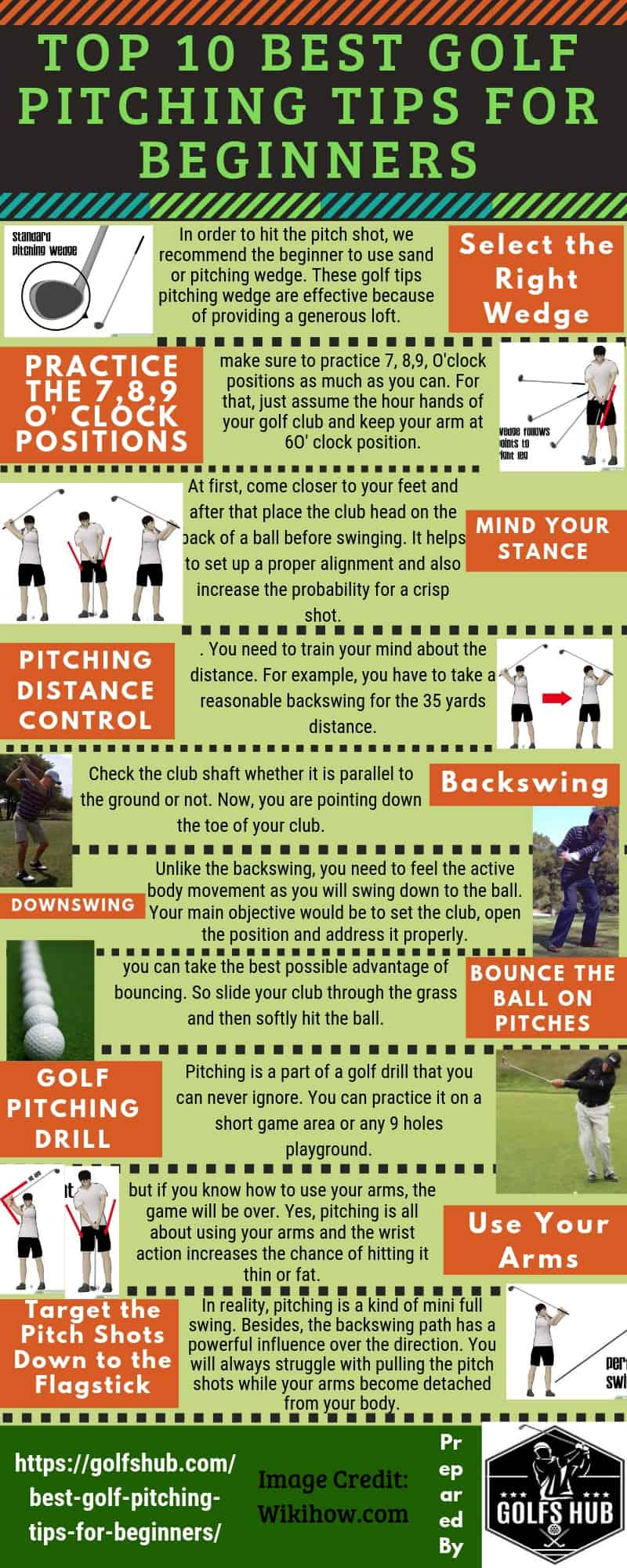 Top 10 Best Golf Pitching Tips for Beginners