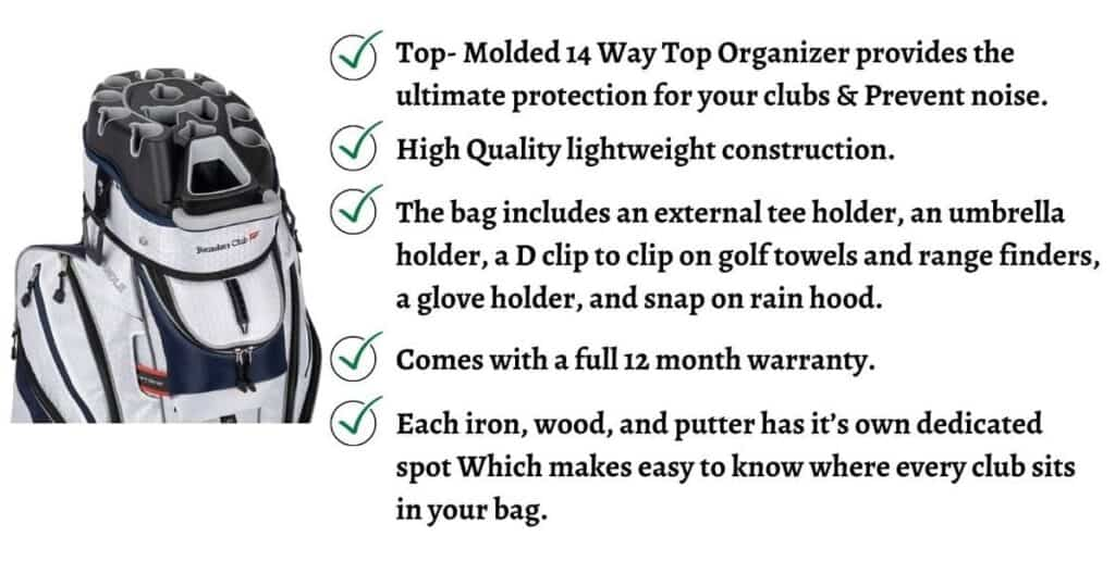 What is the best golf cart bags reviews