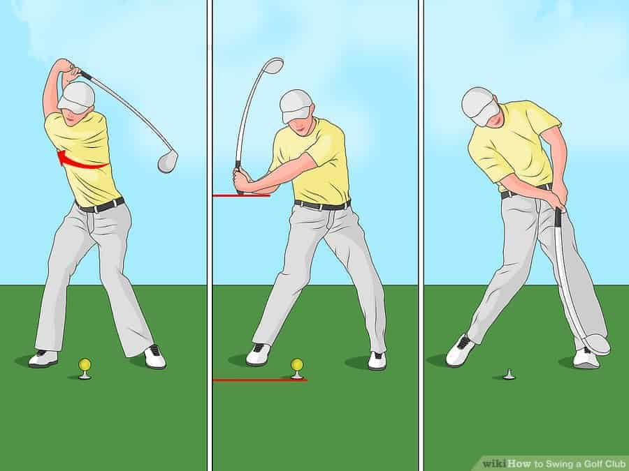 how to golf swing - Backswing