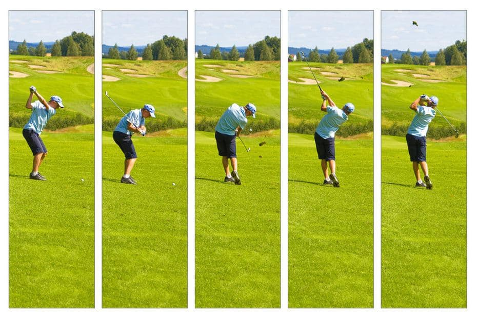 how to swing a golf club for beginners