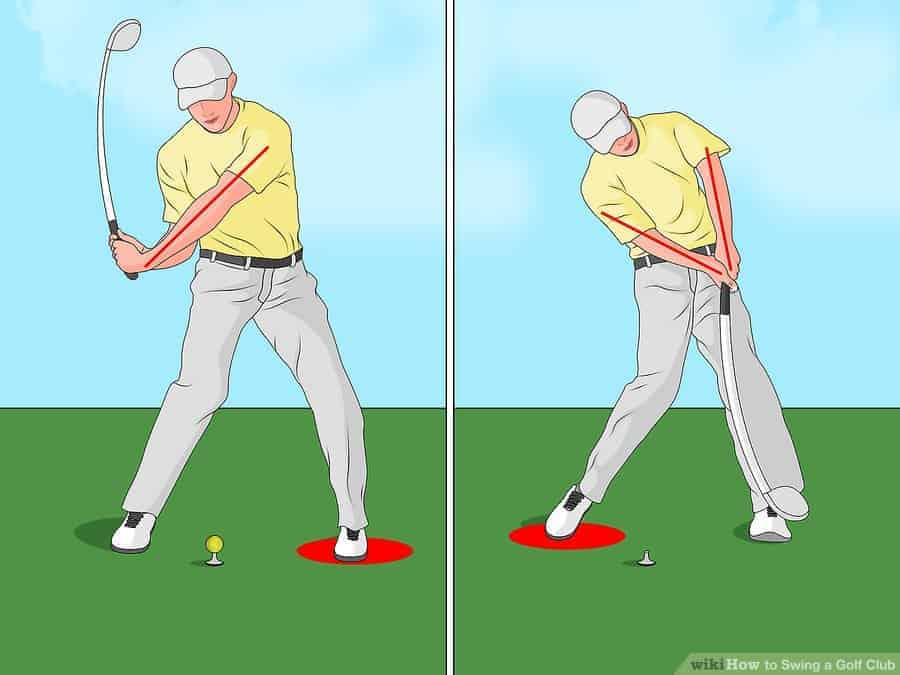 how to swing golf club- Downswing