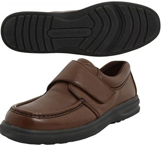 hush puppies gil slip-on mens shoes s