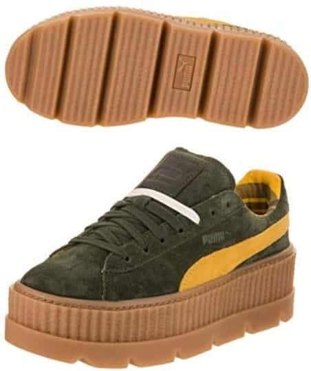 puma cleated creeper suede fenty sneakers s