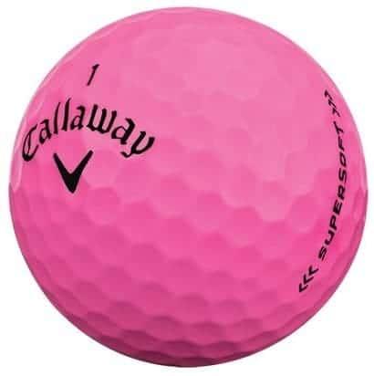 Callaway Supersoft Golf Balls 2017