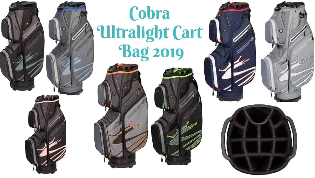 e9314045cf14 Cobra Ultralight Cart Bag Review: A Golf Cart Bag with Cooler ...