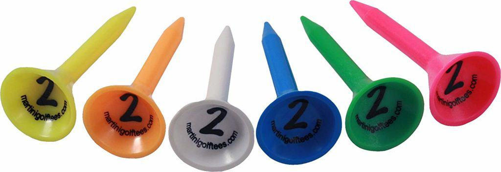 Martini Golf Tees