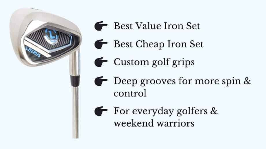 What are the best golf irons for the money