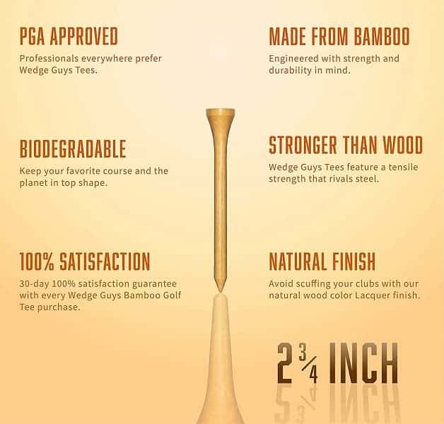 best golf tees for distance W-top