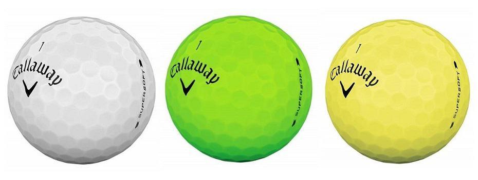 callaway golf balls supersoft s