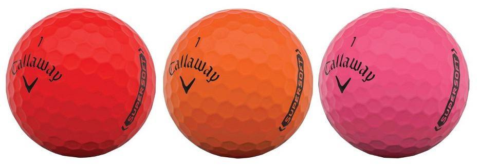 callaway supersoft golf balls pink