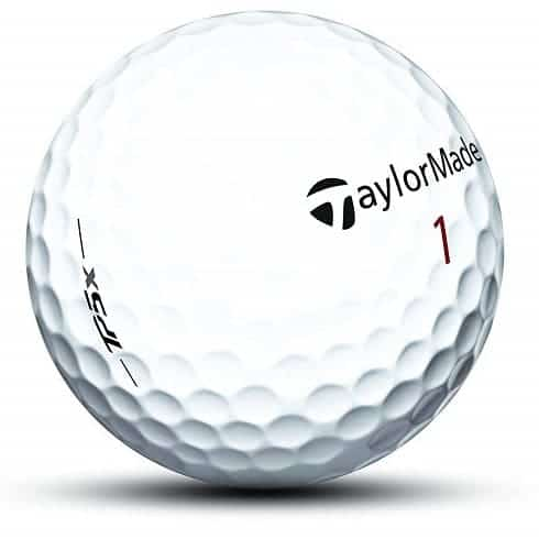 taylormade tp5x golf balls for spin