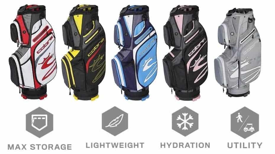 the Cobra Ultralight Cart Bag