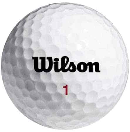 wilson smart core golf balls for slice