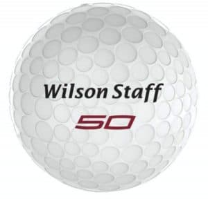 wilson staff fifty elite golf balls