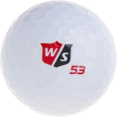 wilson staff fifty elite golf balls for women