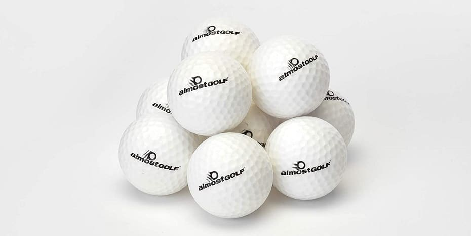 ALMOSTGOLF Point3 Limited Flight Practice Golf Balls 11