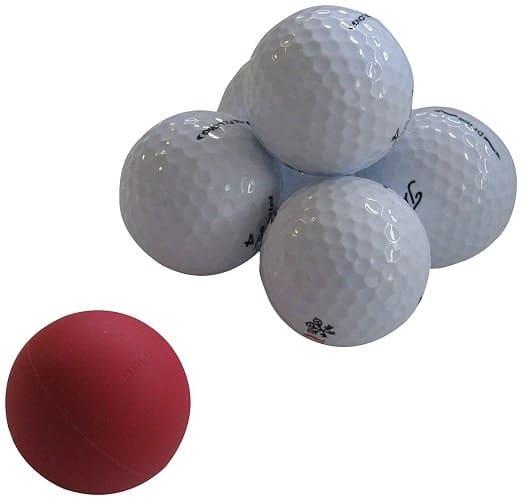 Eyeline Golf Weighted practice Ball Of Steel