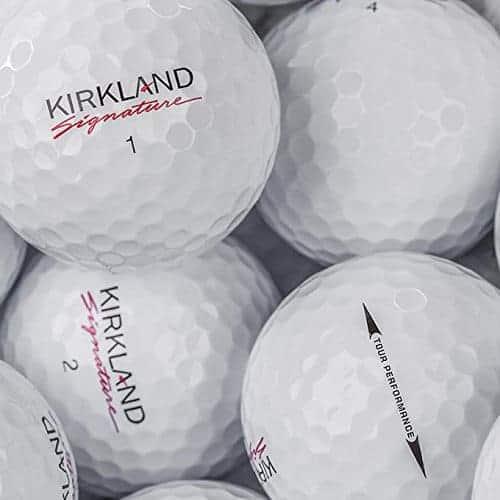 Kirkland 4 piece Golf Balls