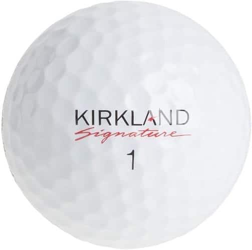 Kirkland Signature Four Piece Urethane Cover Golf Ball