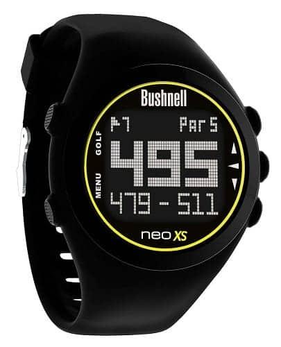 bushnell neo xs golf gps rangefinder watch