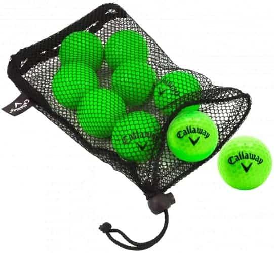 callaway hx practice golf balls indoor