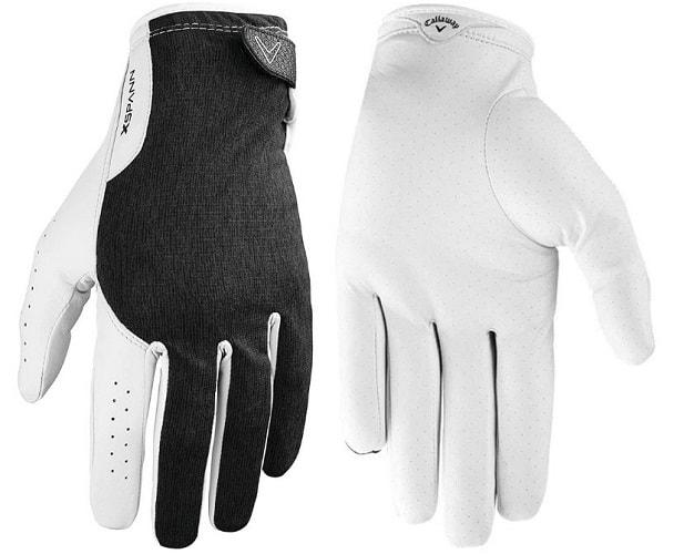 callaway x spann golf gloves m