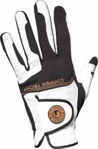 copper tech golf gloves