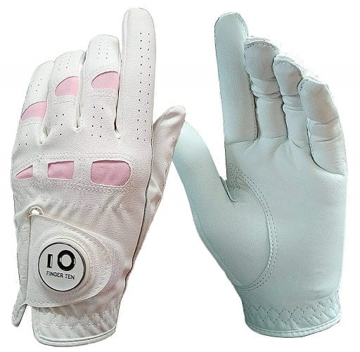 finger ten golf gloves w