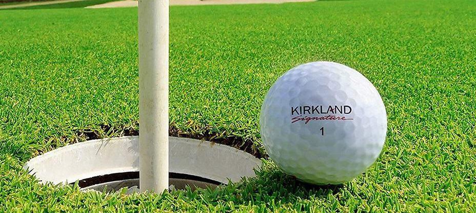 kirkland signature 4-piece golf balls