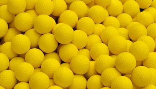 what are the best practice golf balls for backyard