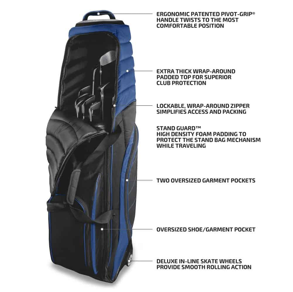 Bag Boy T-2000 Pivot Grip Wheeled Travel Cover