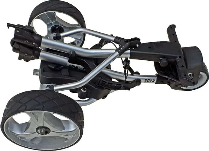 spin it electric golf cart