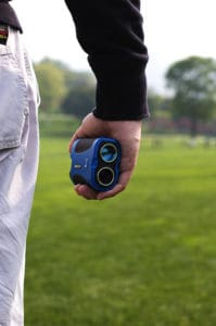 Laser rangefinder for golf