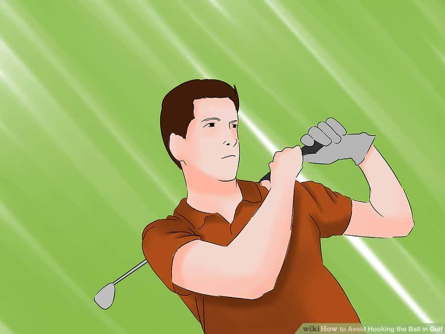 What is hook in golf