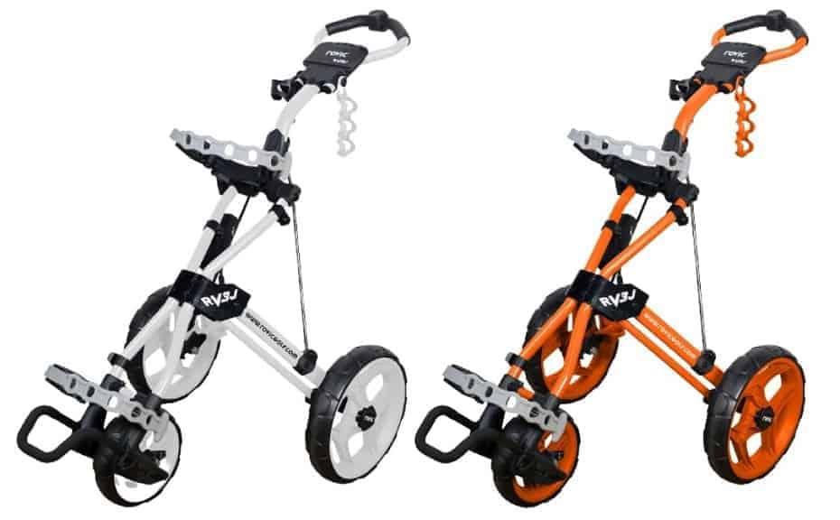 clicgear golf junior rovic rv3j push cart
