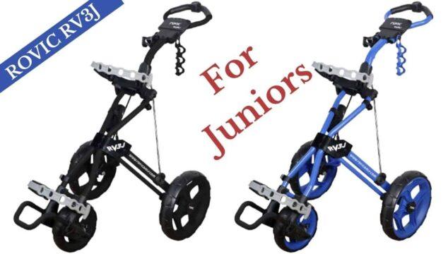 clicgear rovic rv3j junior push carts review