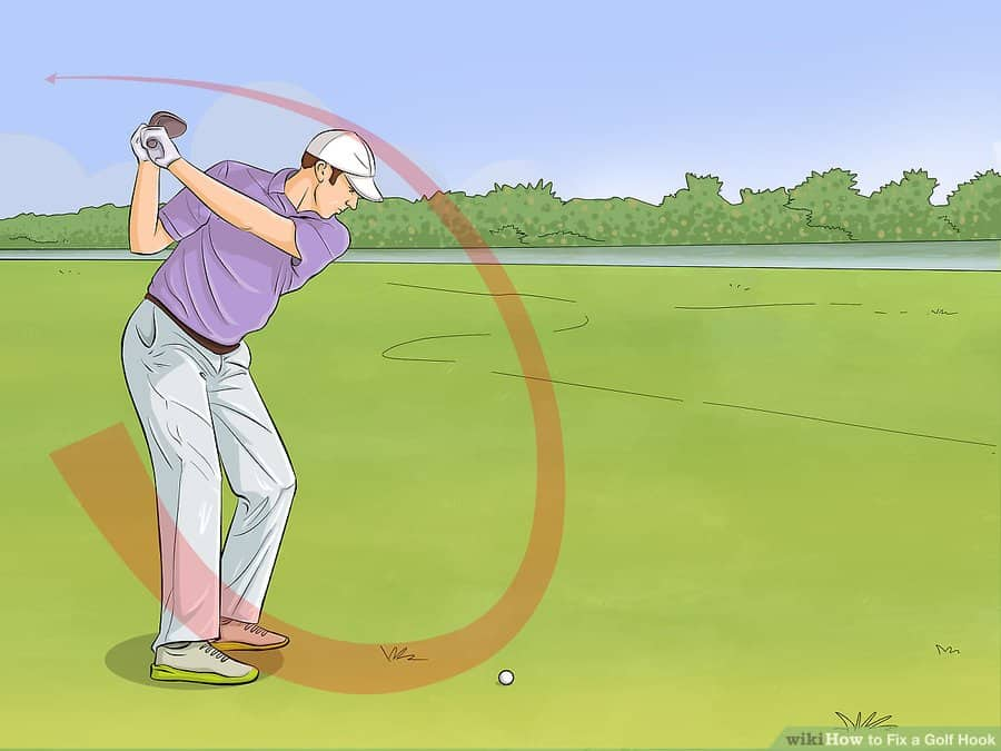 golf hook definition - pull hook