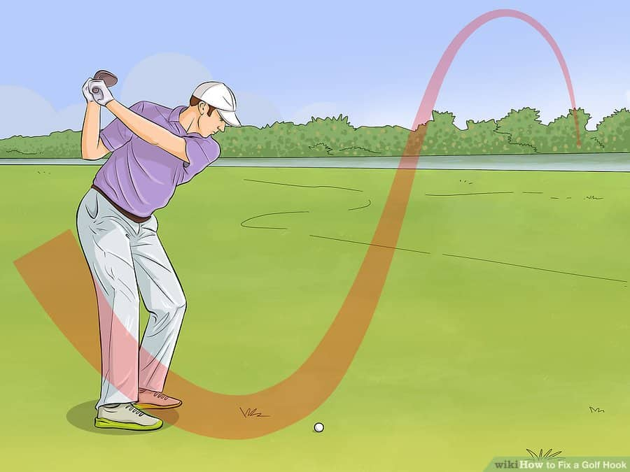 golf hook fix - straight hook