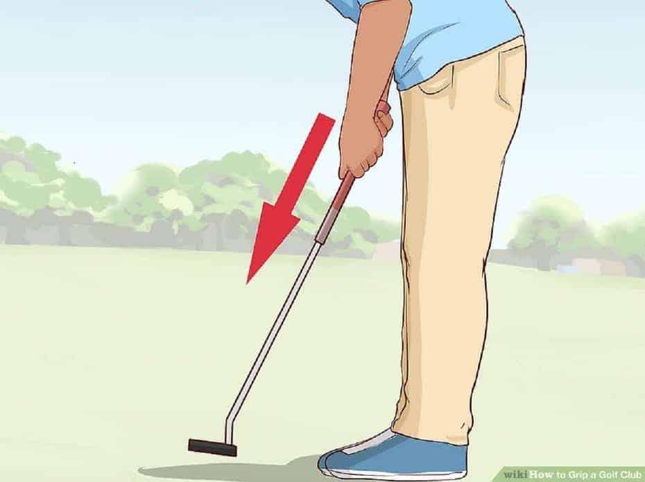 golf club Grip strength