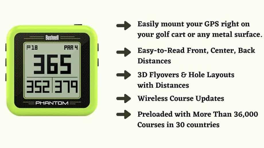 Bushnell Phantom Golf GPS Reviews