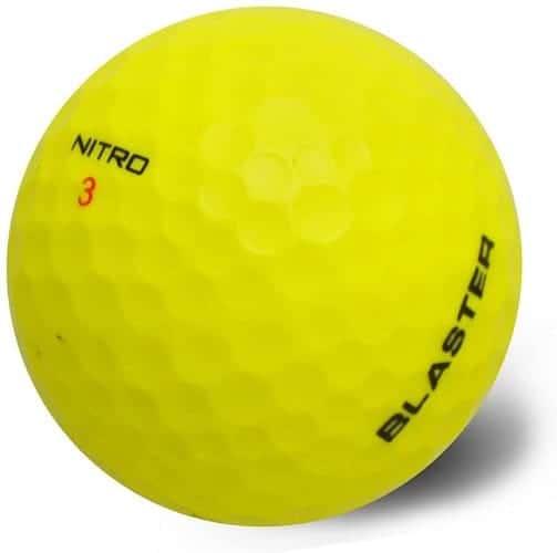 Why are nitro golf balls illegal