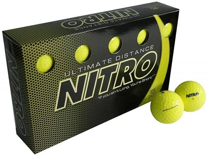 are nitro ultimate distance golf balls legal